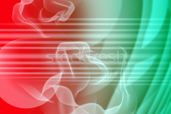 Abstract green and red background Stock photo © cherezoff
