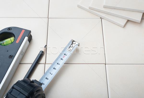 Set of tiles Stock photo © cherezoff