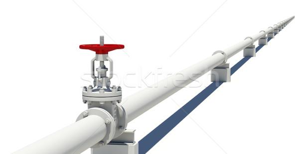 Detalhado modelo pipes isolado branco Foto stock © cherezoff