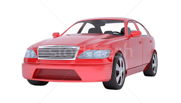 Image of red car Stock photo © cherezoff