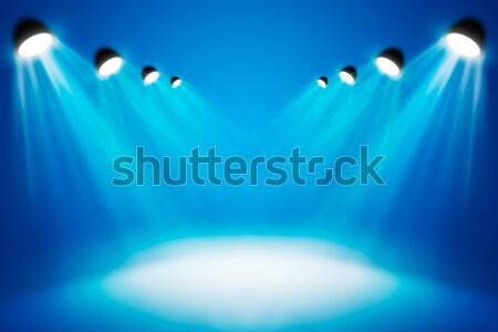 Résumé matériel d'éclairage modèle design technologie fond Photo stock © cherezoff