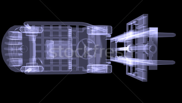 Loader. X-ray Stock photo © cherezoff