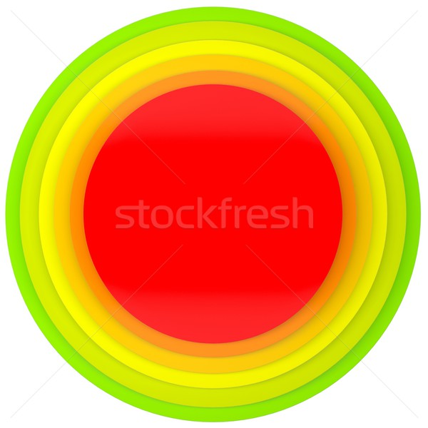 Button of colored discs Stock photo © cherezoff