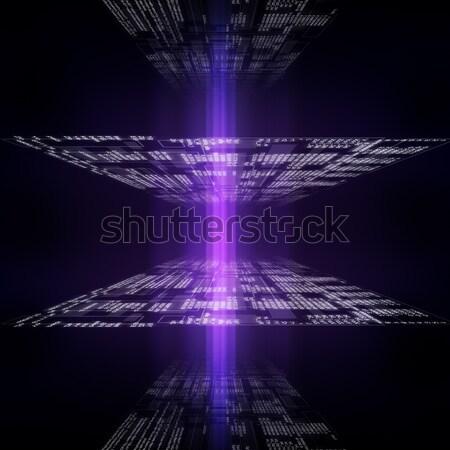 современных отображения данные источник Код компьютер Сток-фото © cherezoff