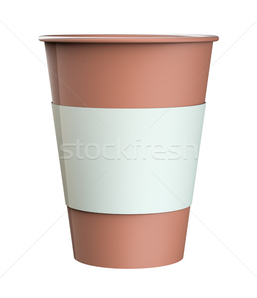 Coffee in takeaway cup Stock photo © cherezoff