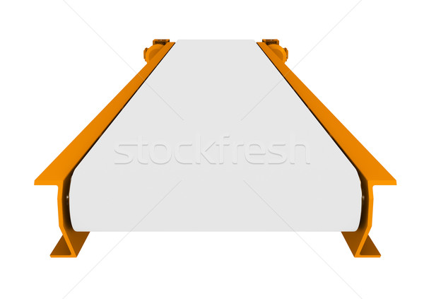 Transporter on white, close up view Stock photo © cherezoff