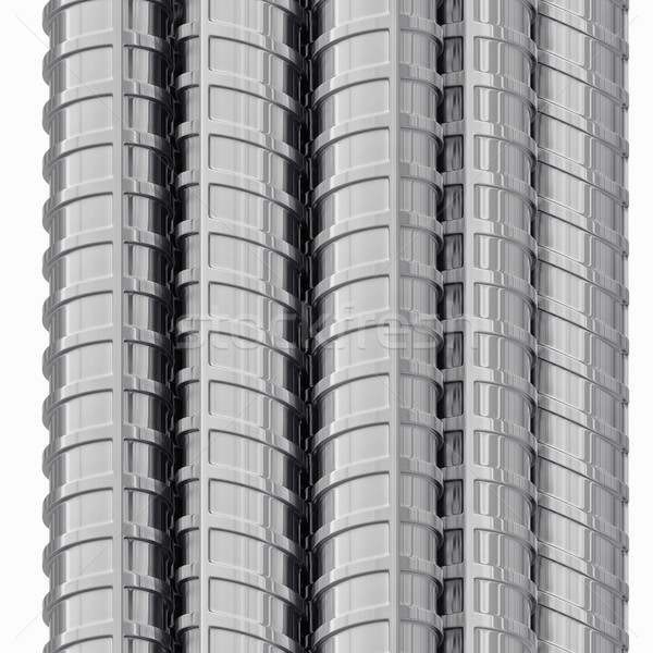 Metal reinforcements, close up, isolated Stock photo © cherezoff
