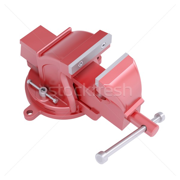 Red vise Stock photo © cherezoff