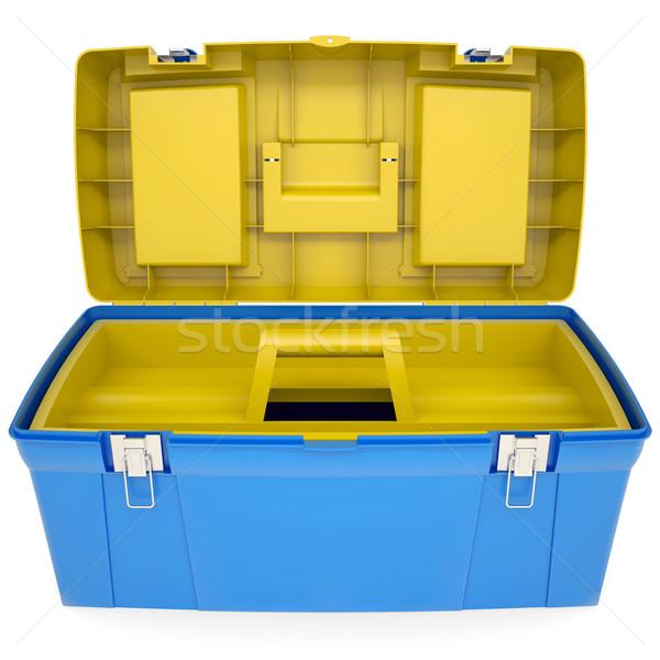 Plastic tool box Stock photo © cherezoff