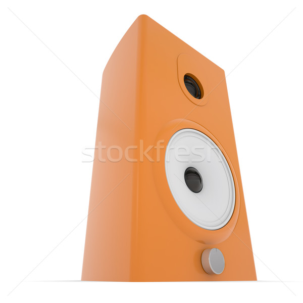 Orange music column Stock photo © cherezoff