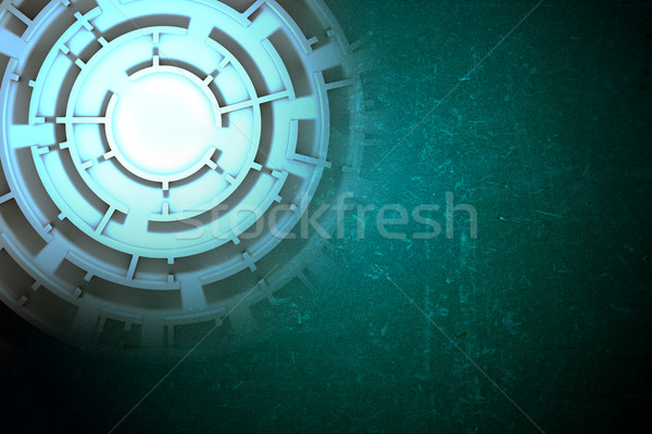 Labyrinth image, top view Stock photo © cherezoff