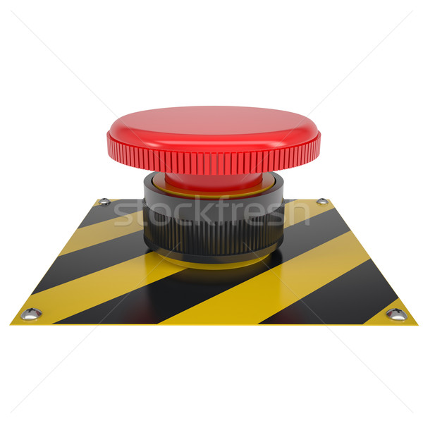 The red button on the base Stock photo © cherezoff