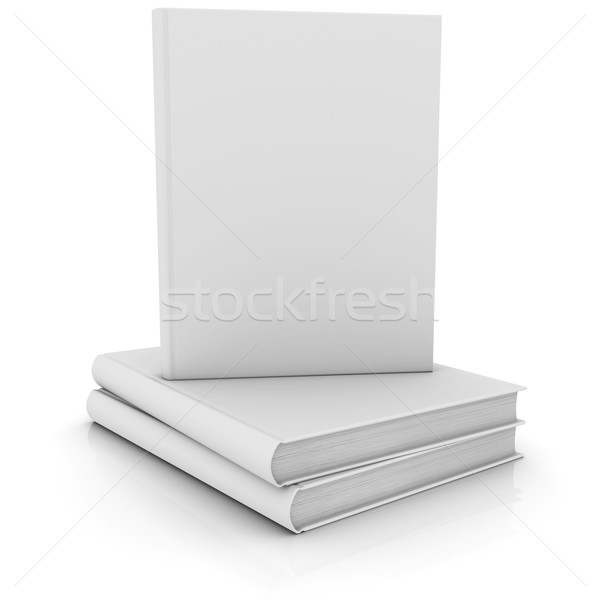 White books Stock photo © cherezoff