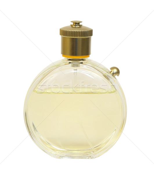 Perfume garrafa isolado branco líquido cosmético Foto stock © cherezoff