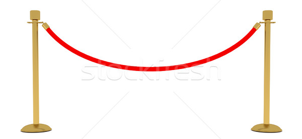 rope barrier Stock photo © cherezoff
