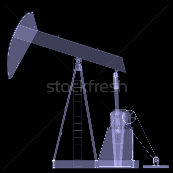 Oil pump. X-ray Stock photo © cherezoff
