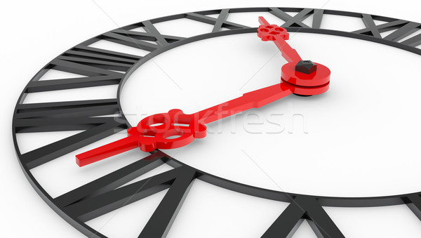 Clock face with Roman numerals Stock photo © cherezoff