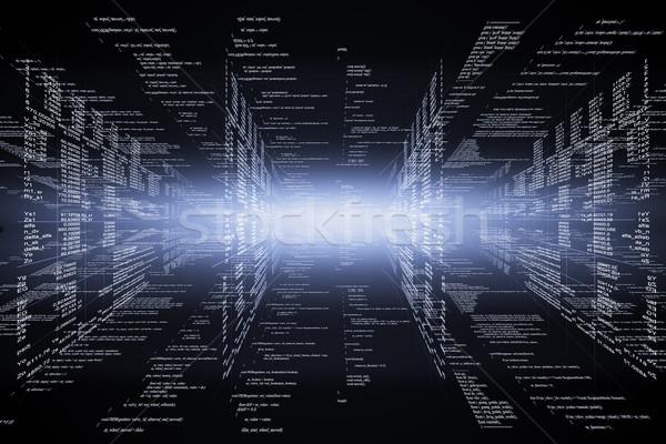 Technológiai program számítógép térkép űr digitális Stock fotó © cherezoff
