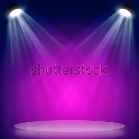 Light beam hitting at surface Stock photo © cherezoff