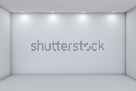 Empty storefront with lights Stock photo © cherezoff