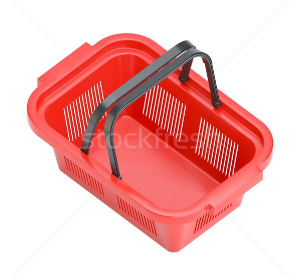 Shopping basket isolated on white background Stock photo © cherezoff