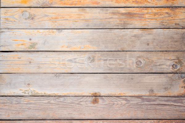 Fából készült textúra öreg közelkép kilátás Stock fotó © cherezoff