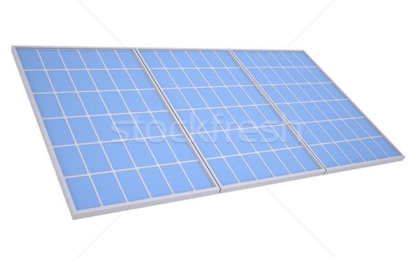 Solar panels Stock photo © cherezoff