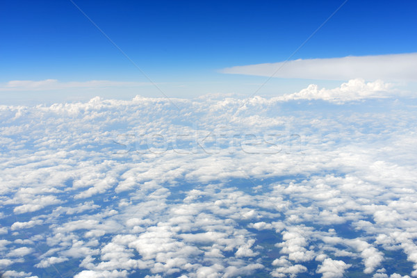 Blue sky and clouds Stock photo © cherezoff