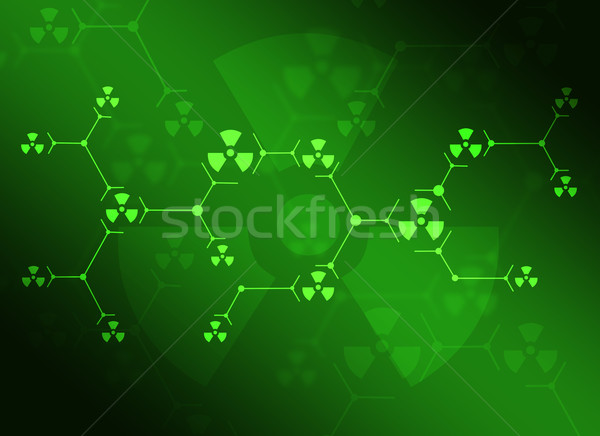 зеленый линия излучение признаков аннотация Сток-фото © cherezoff