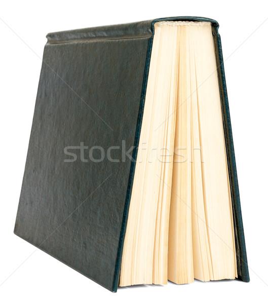 Könyv izolált fehér könyvek közelkép kilátás Stock fotó © cherezoff