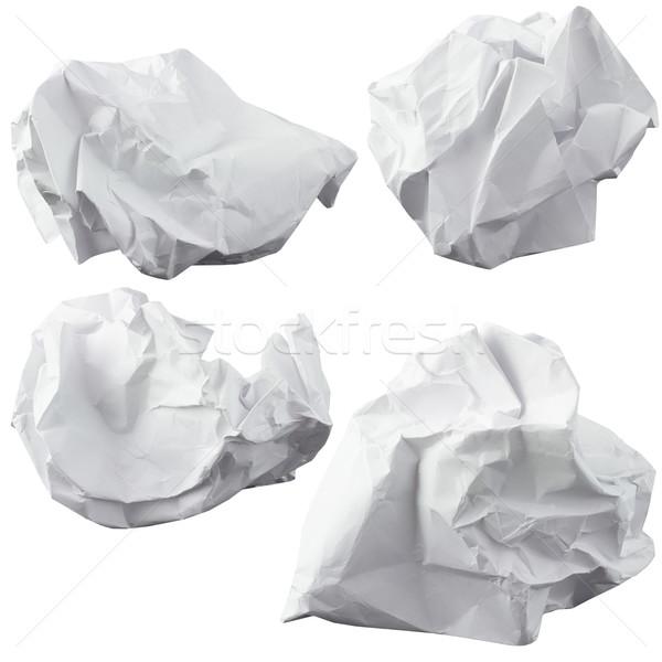 Crumpled paper Stock photo © cherezoff