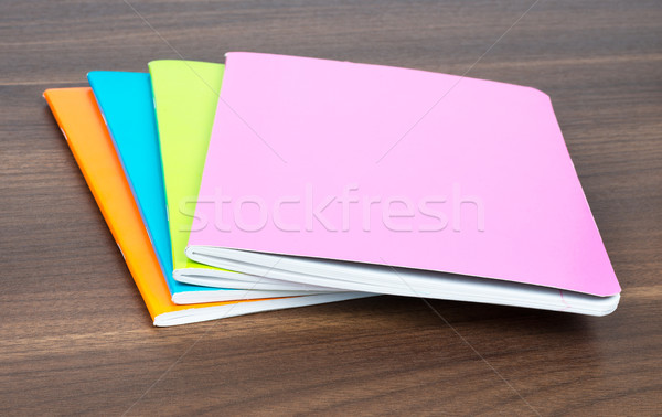 Pile of notebooks  Stock photo © cherezoff