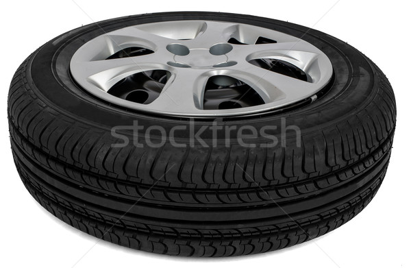 New automotive wheel Stock photo © cherezoff