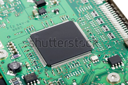 Elektronische circuit board bewerker witte technologie server Stockfoto © cherezoff