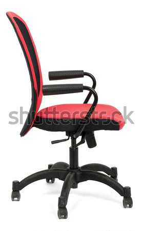 Red office chair Stock photo © cherezoff