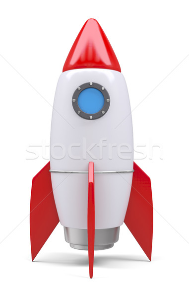 Rocket space ship Stock photo © cherezoff