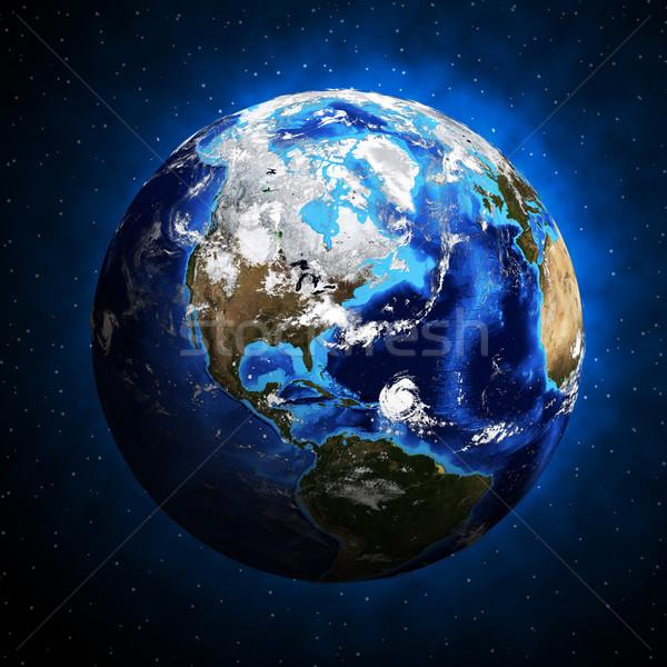 Earth planet Stock photo © cherezoff