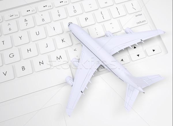 самолет клавиатура дизайна ключевые плоскости Сток-фото © cherezoff