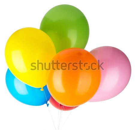 Childrens party balloons Stock photo © cherezoff