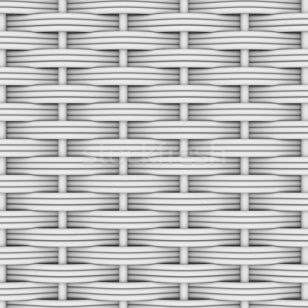 White woven rattan Stock photo © cherezoff
