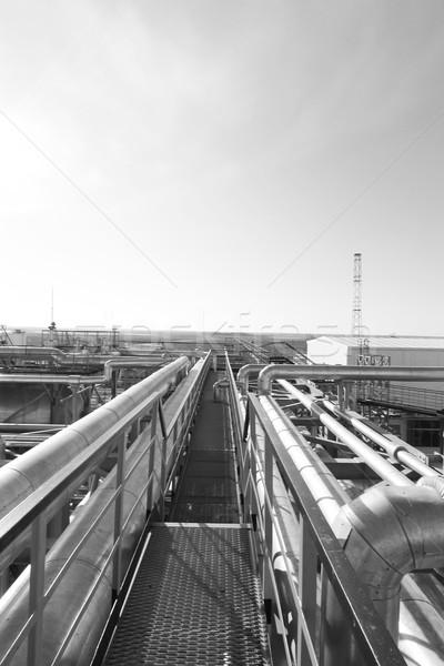 産業 鋼 ビジネス 水 抽象的な 背景 ストックフォト © cherezoff