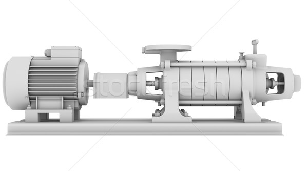 White water pump Stock photo © cherezoff