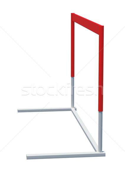 Treadmill barrier, side view Stock photo © cherezoff