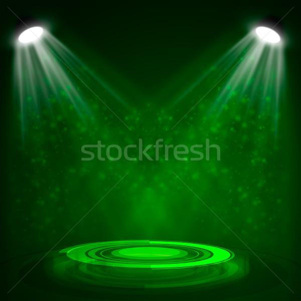 Belső projektor előadás buli fény háttér Stock fotó © cherezoff