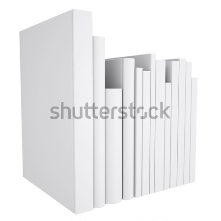A stack of white papers Stock photo © cherezoff