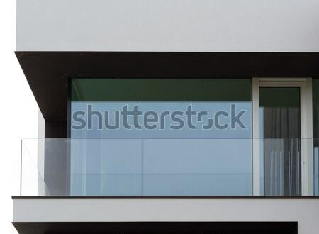 стекла балкона современных дома мнение Сток-фото © cherezoff