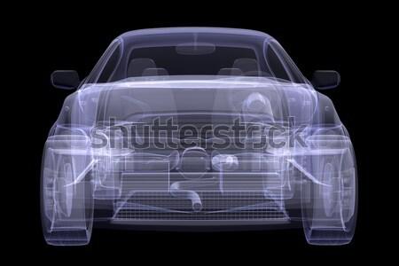 X-ray concept car Stock photo © cherezoff