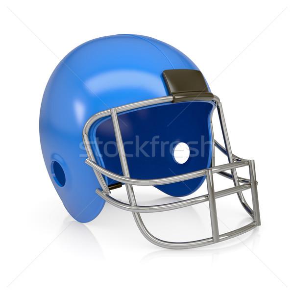 American football helmet Stock photo © cherezoff