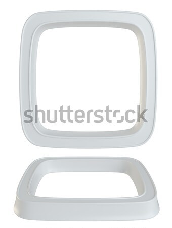 Empty checkbox rounded square Stock photo © cherezoff