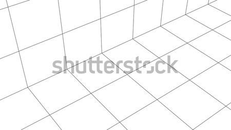 Three-dimensional visualization cylinder Stock photo © cherezoff